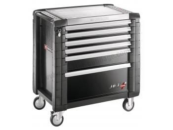 facom servante jetm4 6 tiroirs noir jet 6gm4pb. Black Bedroom Furniture Sets. Home Design Ideas