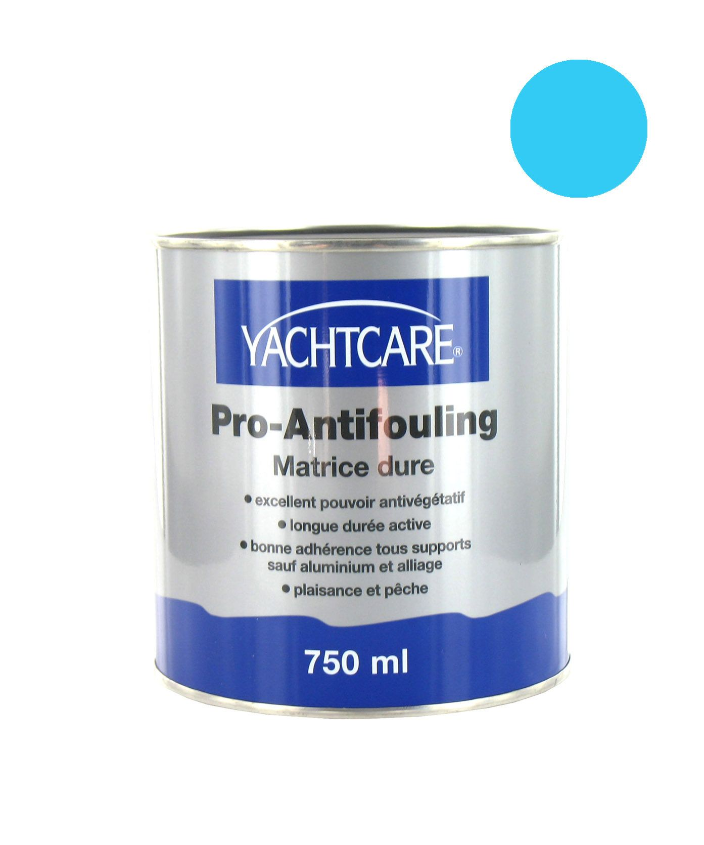 yachtcare peinture pro antifouling bleu ciel 750ml. Black Bedroom Furniture Sets. Home Design Ideas