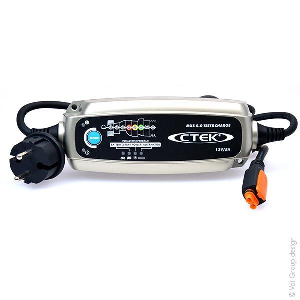ctek conditionneur de batterie mxs 5 0 test and charge. Black Bedroom Furniture Sets. Home Design Ideas