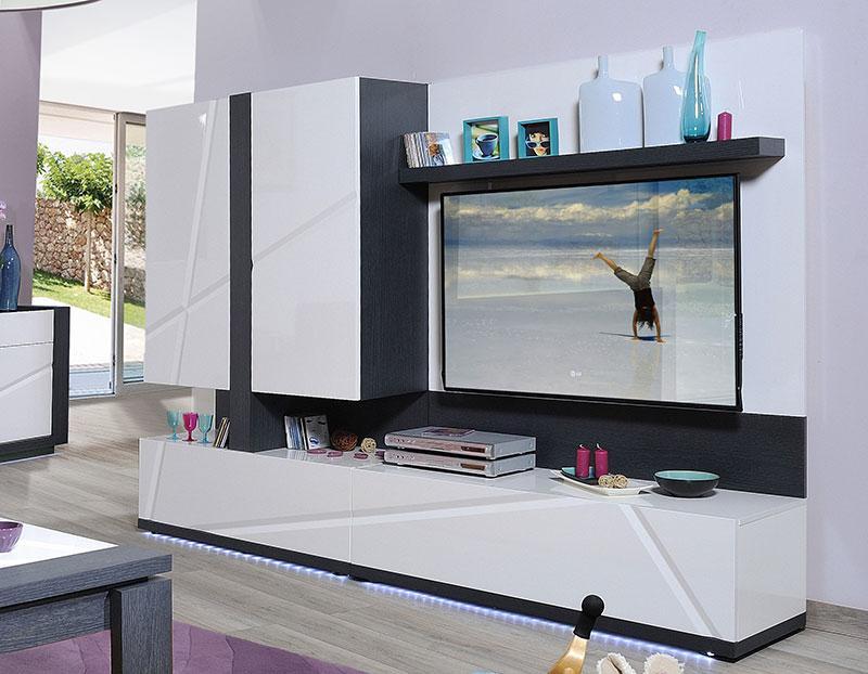 Recherche panneau lumineux - Panneau mural tv design ...