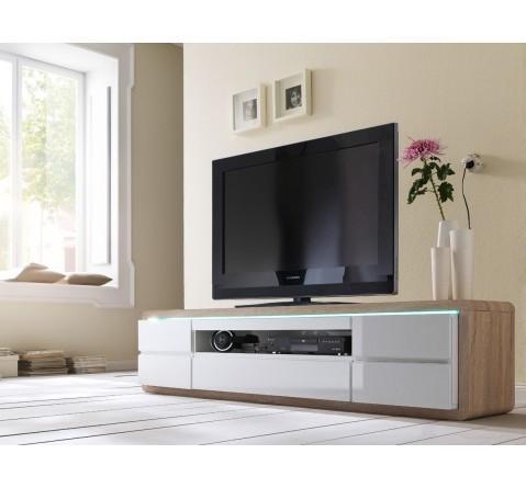 T l commande de t l vision guide d 39 achat for Meuble tv chene et blanc laque