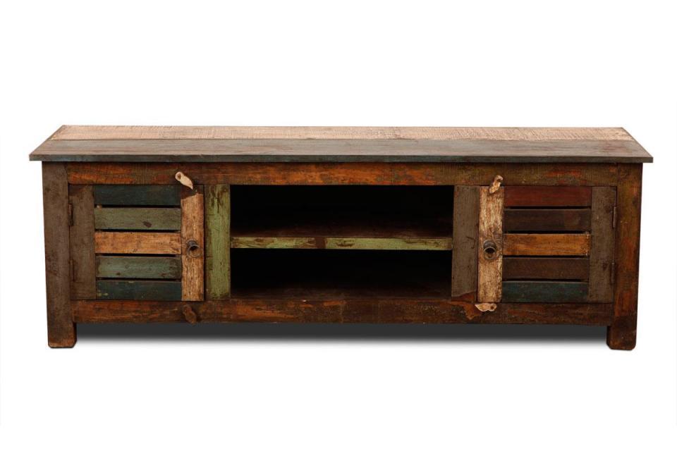 Lafuma table mayotte 80x57cm couleur marron marron alu for Assembler un meuble en bois