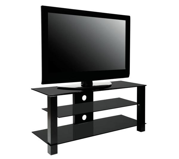 erard meuble tv ice laque noir 035210. Black Bedroom Furniture Sets. Home Design Ideas