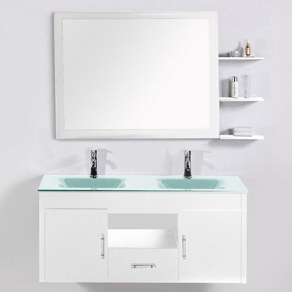 Recherche meuble verre du guide et comparateur d 39 achat for Recherche meuble salle de bain