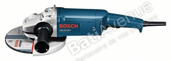 Bosch gws 20 230 h - Meuleuse bosch 230 ...