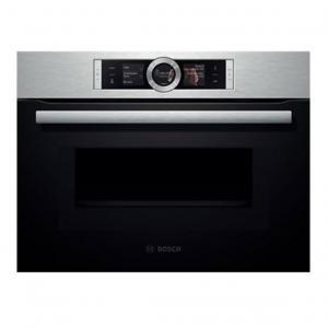 Bosch cmg636bs1 cat gorie four pyrolyse - Micro ondes porte abattante ...