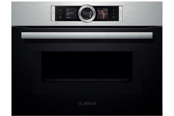 Bosch cmg636bs1 catgorie four pyrolyse - Micro ondes porte abattante ...