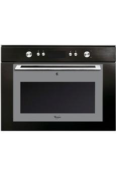 Whirlpool amw863nb - Micro ondes porte abattante ...