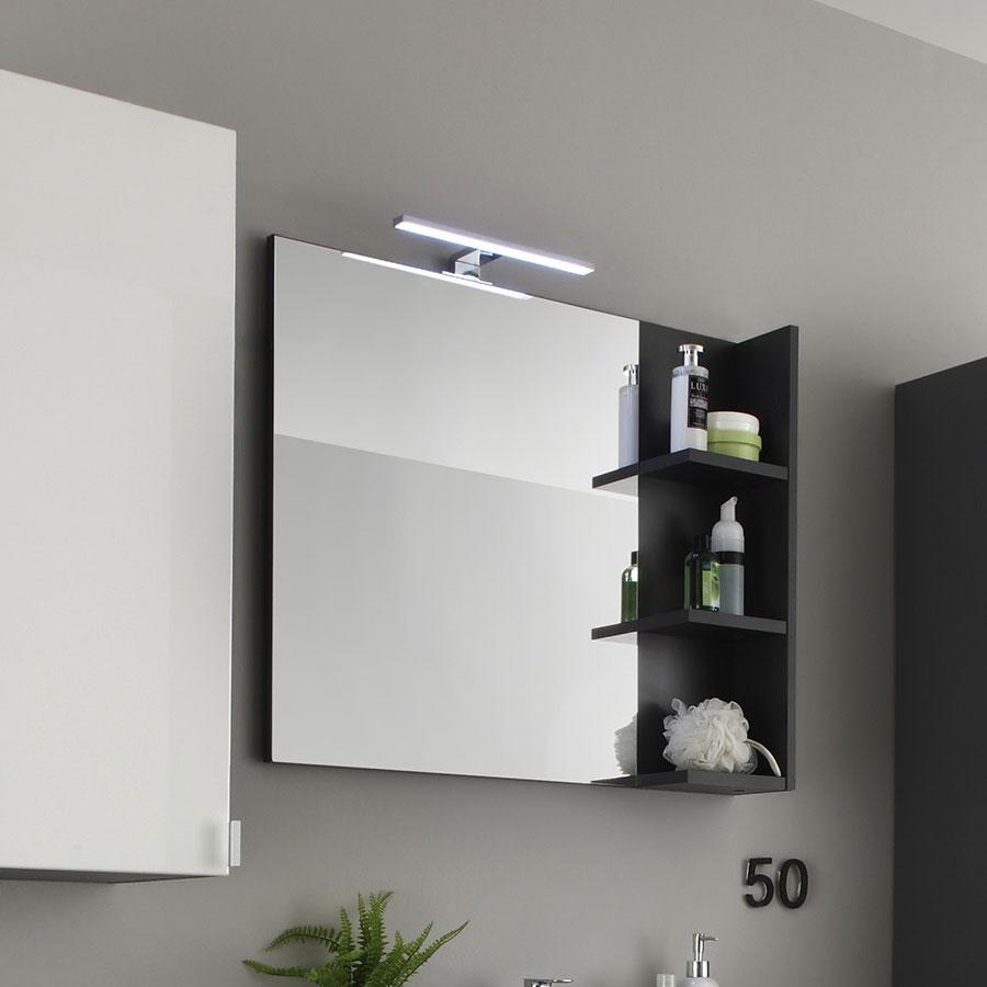 Miroir guide d 39 achat for Miroir de salle de bain avec etagere