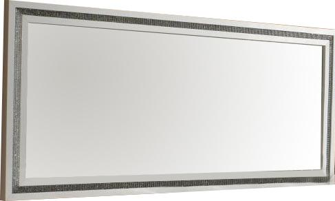 Miroir guide d 39 achat for Miroir horizontal blanc