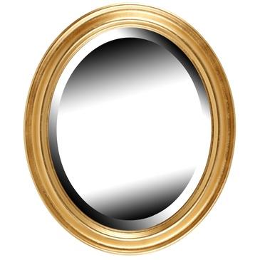 Brio miroir ovale dor vendme 40x50 cm for Miroir 40x50
