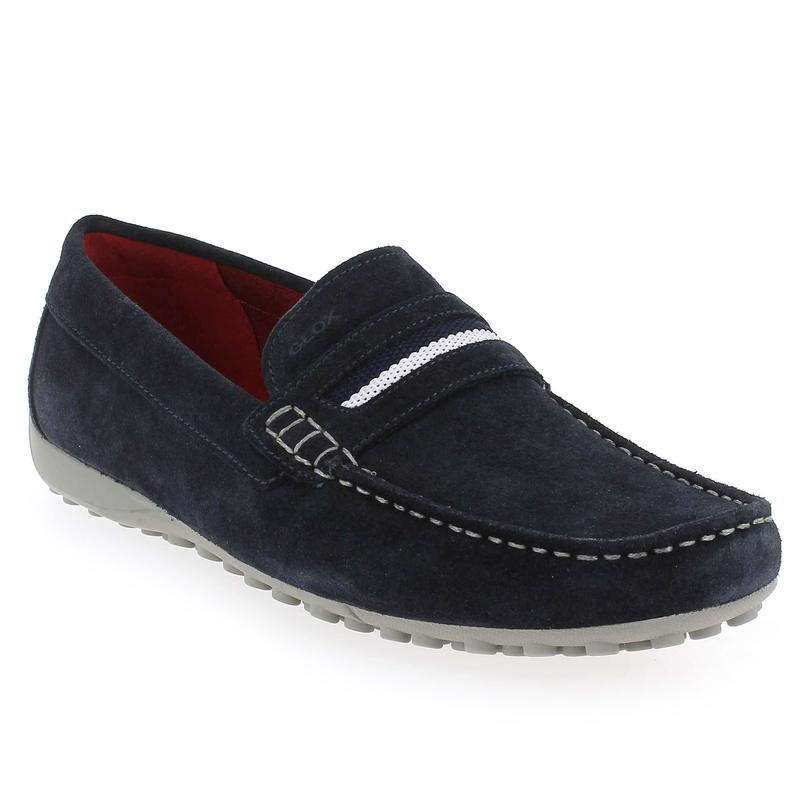 mocassin homme geox geox u simon a u32q3a loafers in blue at geox chaussure pas cher homme. Black Bedroom Furniture Sets. Home Design Ideas