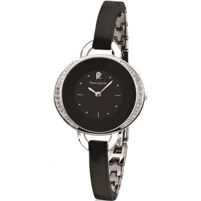 pierre lannier montre lannier 084h639 montre noire s. Black Bedroom Furniture Sets. Home Design Ideas