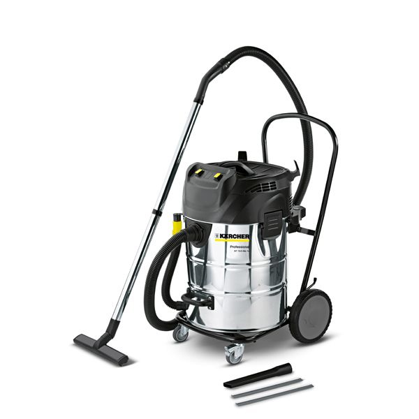 karcher aspirateur eau et poussires cuve inox nt 70 2 me. Black Bedroom Furniture Sets. Home Design Ideas