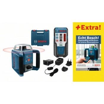 Bosch claser rotatif grl400h pack exterieur for Niveau laser exterieur bosch