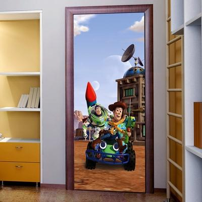 Disney cposter porte toy story cat gorie poster d co maison for Decoration maison disney