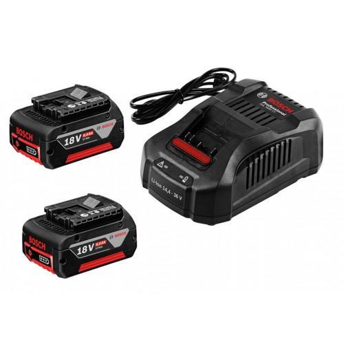 bosch pack de 2 batteries 18v 6ah li ion 1 chargeur 1600a00500 cat gorie pulv risateur. Black Bedroom Furniture Sets. Home Design Ideas