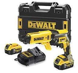 dewalt c visseuse placo avec chargeur 18v 5ah dcf620p2k cat gorie visseuses d visseuse. Black Bedroom Furniture Sets. Home Design Ideas
