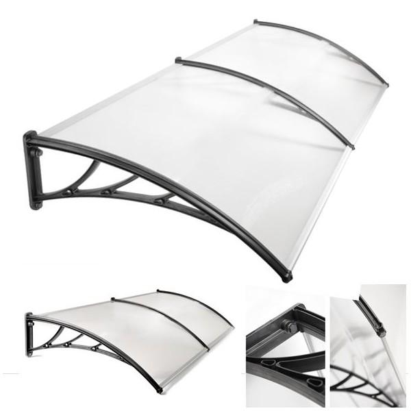 probache auvent de porte marquise dacceuil 90x150 cm. Black Bedroom Furniture Sets. Home Design Ideas