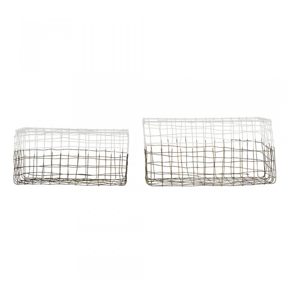 Courrier guide d 39 achat - Panier metal house doctor ...