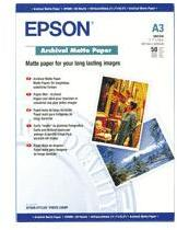 EPSON Papier Photo A3 50 Feuilles