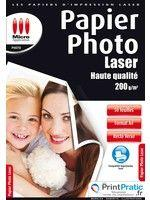 Papier Photo laser recto verso
