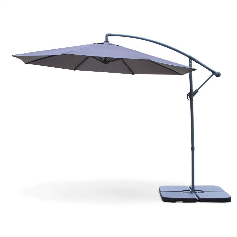 alice c s garden parasol d port rond 300cm excentr. Black Bedroom Furniture Sets. Home Design Ideas