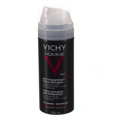 vichy c homme deo tri spray 72h 150ml cat gorie cr mes solaires. Black Bedroom Furniture Sets. Home Design Ideas
