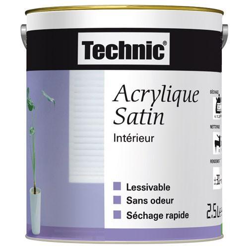 Catgorie peinture dintrieur du guide et comparateur d 39 achat for Peinture acrylique lessivable