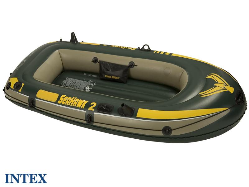 intex bateau de peche gonflable seahawk 2. Black Bedroom Furniture Sets. Home Design Ideas