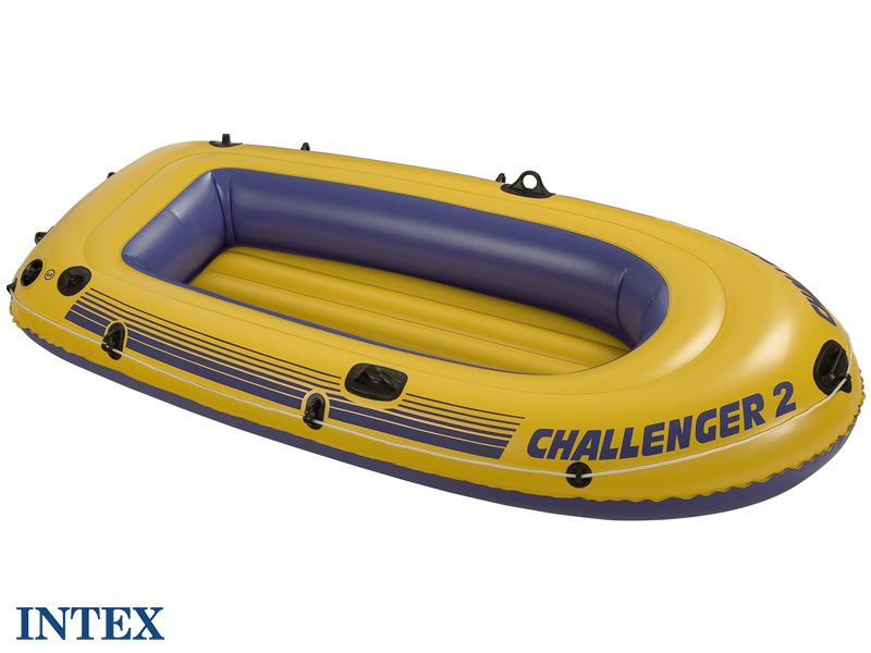 Intex bateau gonflable challenger 2 - Bateau gonflable 4 personnes ...