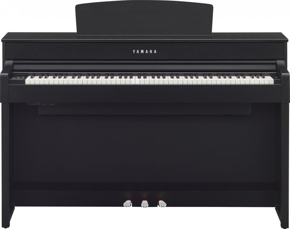 yamaha p 115 piano numerique 88 touches noir. Black Bedroom Furniture Sets. Home Design Ideas
