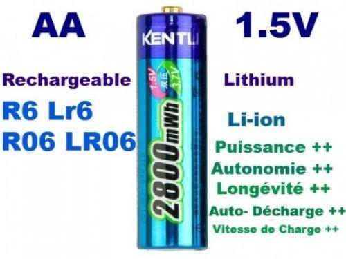 Catgorie pile rechargeable du guide et comparateur d 39 achat - Pile rechargeable aa ...