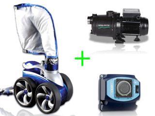 polaris pack robot 3900s surpresseur 1 5cv coffret cat gorie entretien de piscine. Black Bedroom Furniture Sets. Home Design Ideas