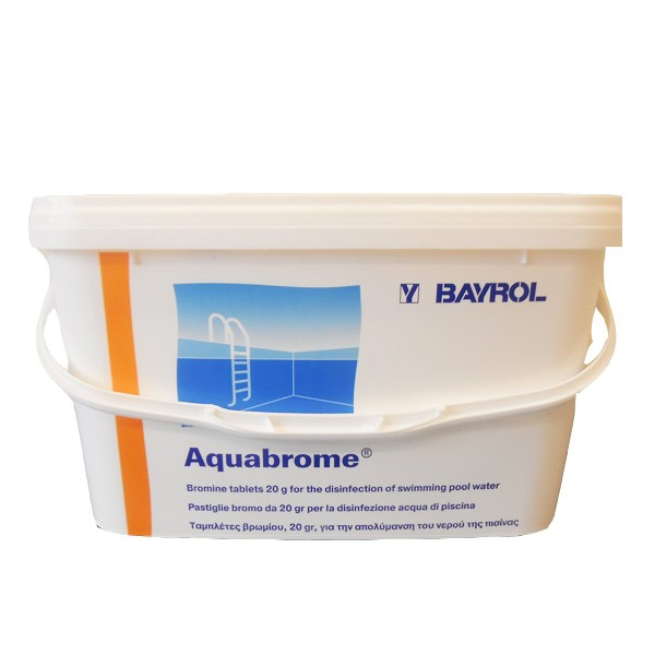 Bayrol brome 5kg aquabrome for Piscine brome