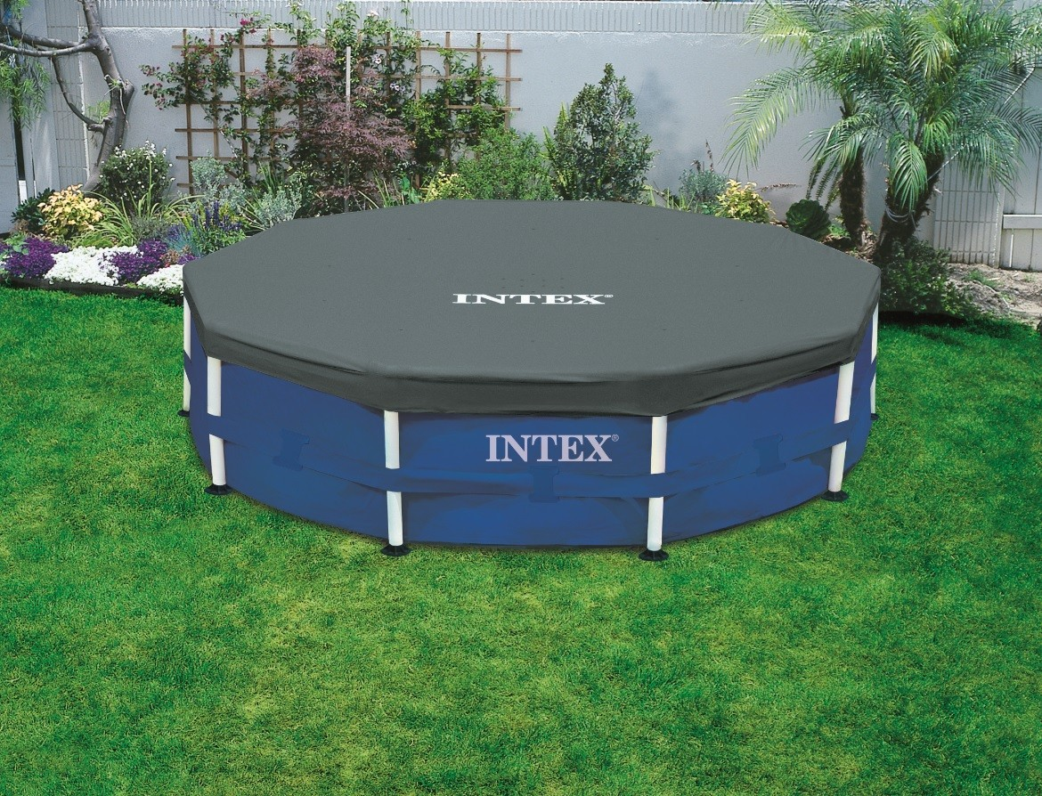 intex b che de couverture metal frame pool 305 cm. Black Bedroom Furniture Sets. Home Design Ideas