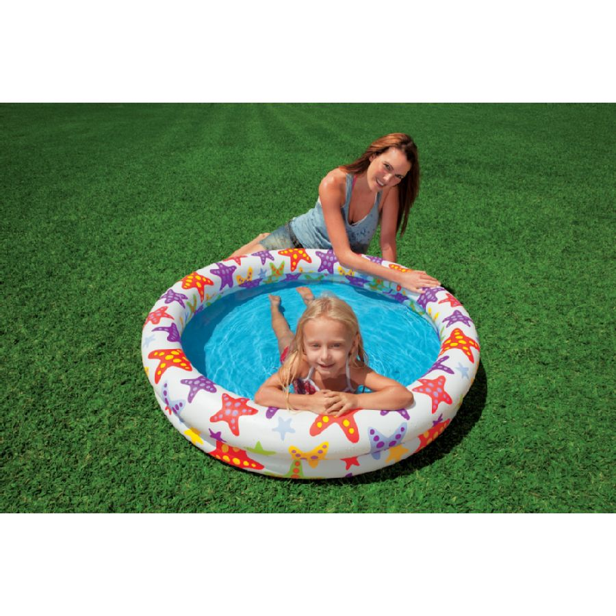 Set piscine 122 x 25cm ballon bou e de intex for Piscine pas cher intex
