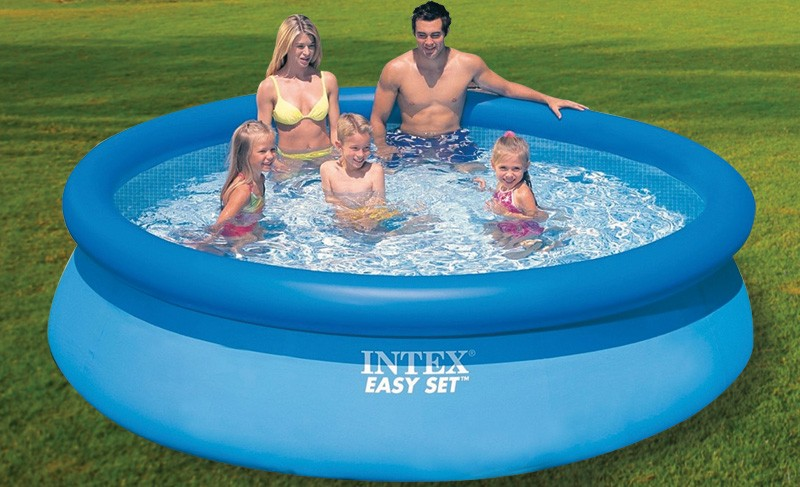 Intex easy set x m epurateur a car for Accessoire piscine 16