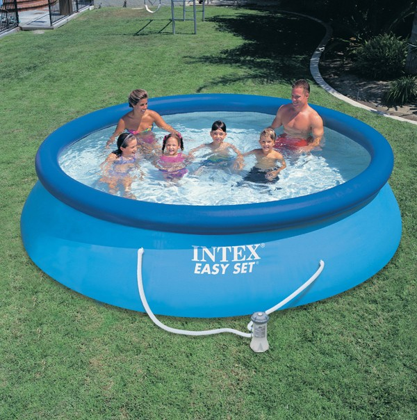 Piscine gonflable de jardin for Piscine 2m44