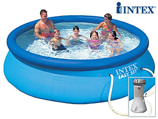 Intex cvanne d arr t avec raccords visser 10747 for Vanne d arret piscine intex