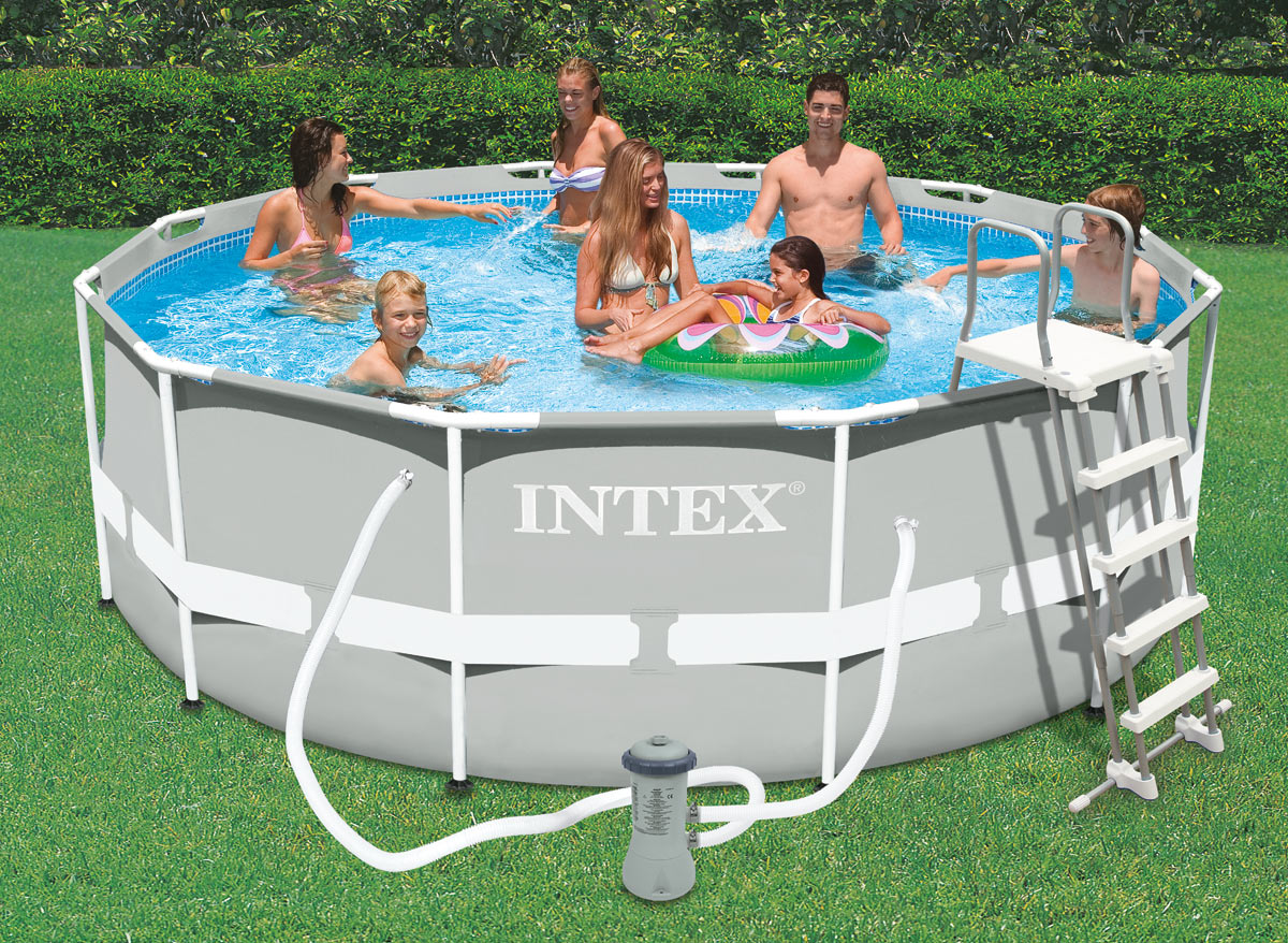 Intex piscine tubulaire 366 x m for Prix liner piscine 10x5