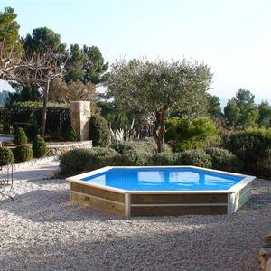 Piscine intex easy set 396 x h084m - Piscine gonflable rectangulaire jardin ...