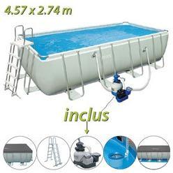 Catgorie piscine gonflable du guide et comparateur d 39 achat for Piscine tubulaire rectangulaire 549 x 274 x 122 cm