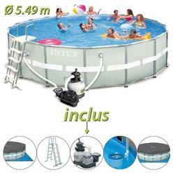 Catgorie piscine gonflable du guide et comparateur d 39 achat for Piscine intex ultra frame 5 49x1 32