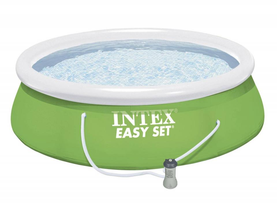 Intex c piscine autostable x 0 84 m cat gorie - Pompe pour piscine intex easy set ...