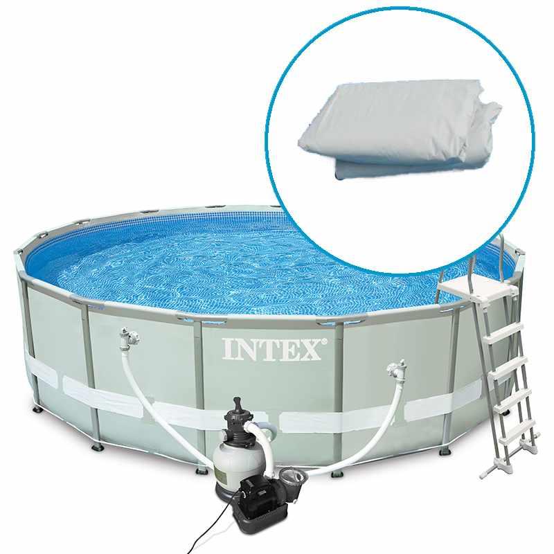 Catgorie piscine page 2 du guide et comparateur d 39 achat for Piscine intex ultra frame 5 49x1 32m filtre a sable