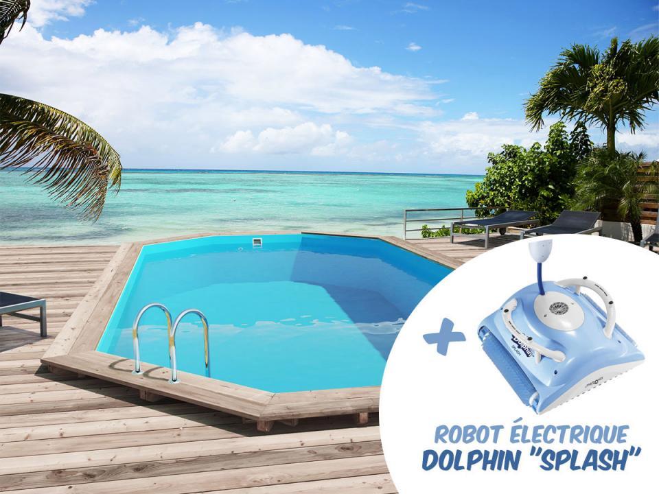 Catgorie piscine page 6 du guide et comparateur d 39 achat for Robot piscine bois