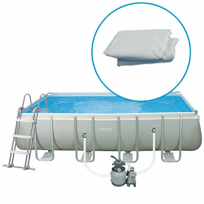 Intex spa gonflable purespa jets et bulles octogonal for Piscine intex silver ultra