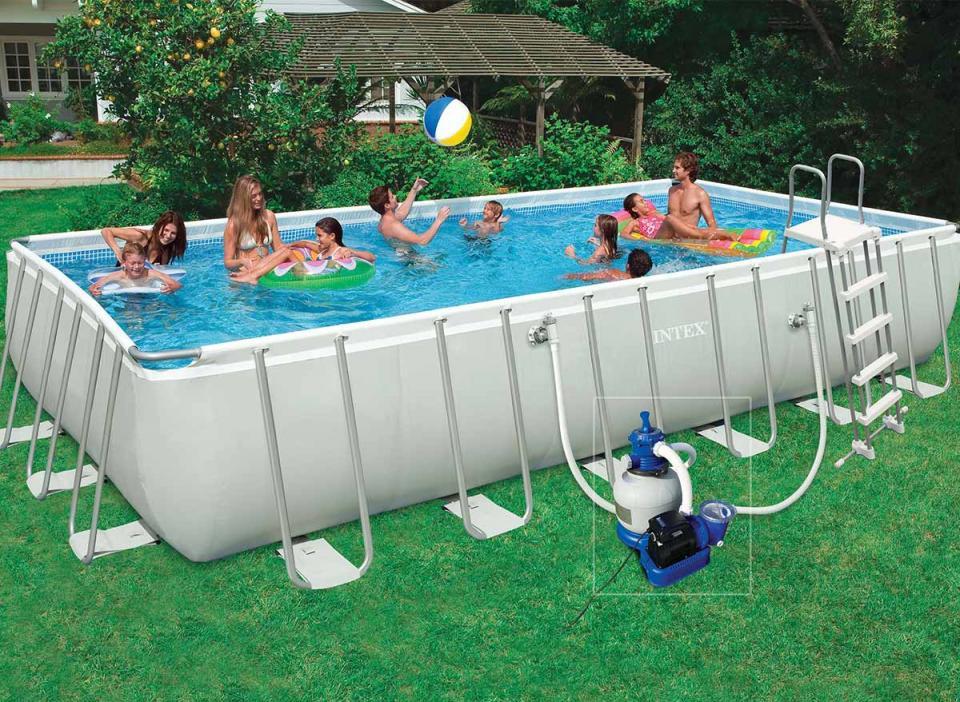 Piscine guide d 39 achat for Intex piscine tubulaire rectangulaire