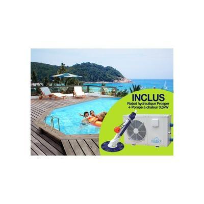 Production guide d 39 achat for Kit piscine bois avec pompe a chaleur
